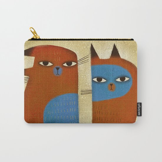 GROUCHY SIBLINGS Carry-All Pouch