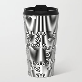 Repeat Repeat  Repeat Metal Travel Mug