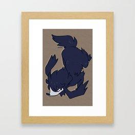PRESS START-  Furfrou Framed Art Print