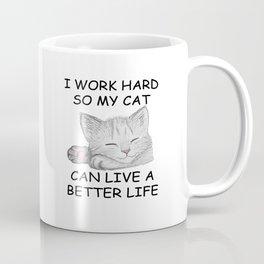 I Work Hard Coffee Mug