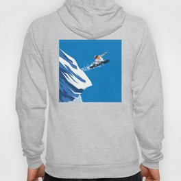 Snow Board Jump Hoody