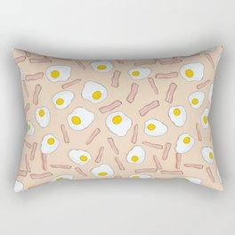 Eggs and bacon Rectangular Pillow