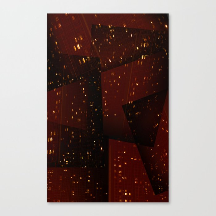 Cities and Desire Canvas Print