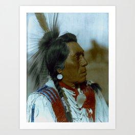 Rabbit Head - Hidatsa - American Indian Art Print