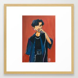Changbin - M.I.A. Framed Art Print