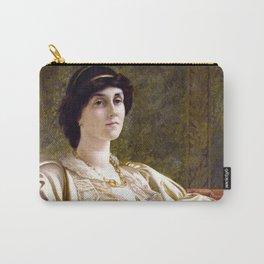 "Sir William Blake Richmond ""Portrait of Ethel Bertha Harrison"" Carry-All Pouch"