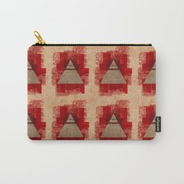 The All-Seeing Eye Pyramid Pattern Carry-All Pouch