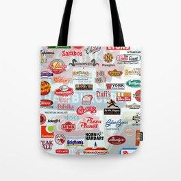 Defunct Restaurants Tote Bag