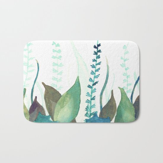 Botanical vibes 04 Bath Mat