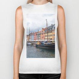 Nyhavn waterfront in Copenhagen Biker Tank