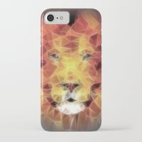 lion king iPhone & iPod Cases featuring lion king by Ancello