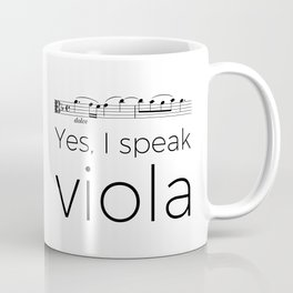 I speak viola Coffee Mug