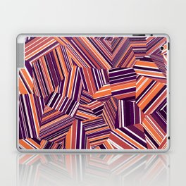 Berry Offcuts - Voronoi Stripes Laptop & iPad Skin