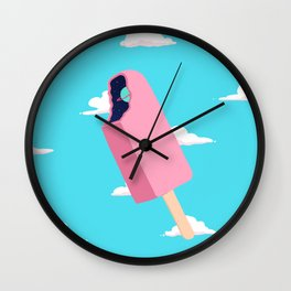 Creamsicle To Another Dimension...  Wall Clock