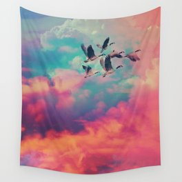 Blue hour Wall Tapestry