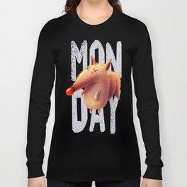 Monday fox Long Sleeve T-shirt