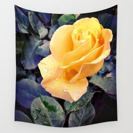 Raindrops On Roses Wall Tapestry