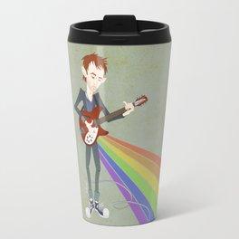 Radiohead Thom in Rainbows Travel Mug
