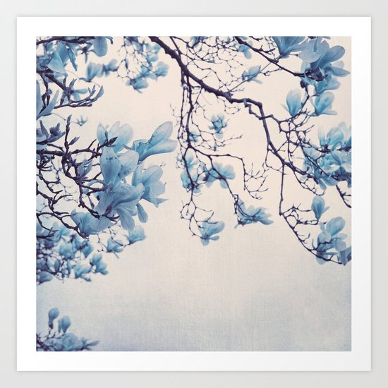 blue friday Art Print