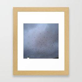 PARKING LOT Framed Art Print