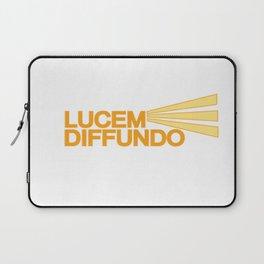 Lucem Diffundo Laptop Sleeve