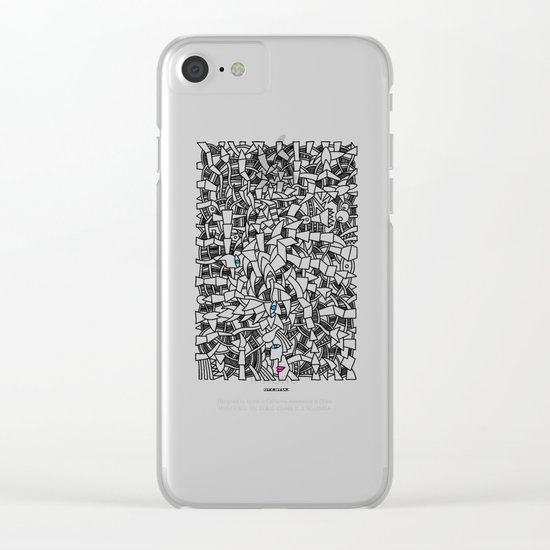 - fresque_01 - Clear iPhone Case