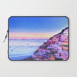 Twilight Over Positano, Italy Laptop Sleeve