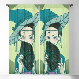 Cards Witch Blackout Curtain