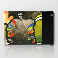 captain silva iPad Cases featuring Captain by Ecsentrik