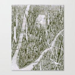 Urban Rhapsody II Canvas Print