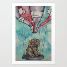 L.E. Art Print