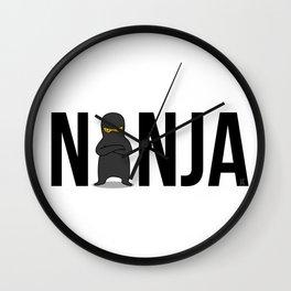 Ninja Boss Wall Clock