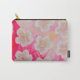 Pink Orchard Carry-All Pouch
