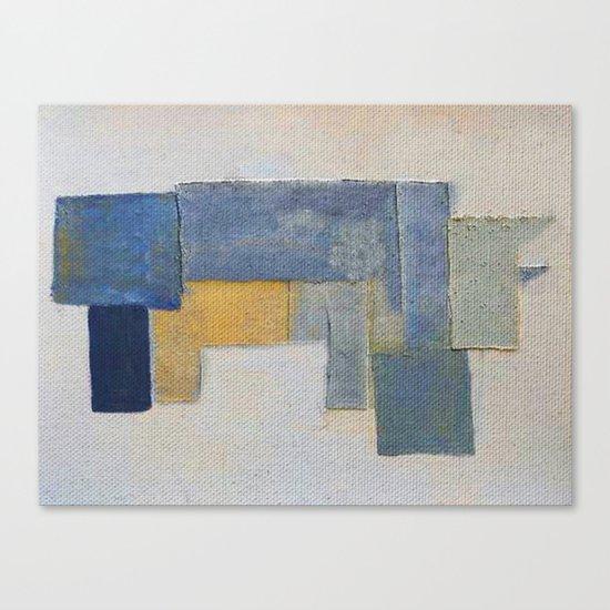 Rustic Rhino Canvas Print