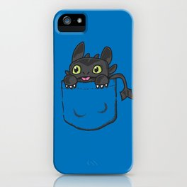 Pocket Toothless iPhone Case