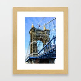 Bridge Tower Framed Art Print