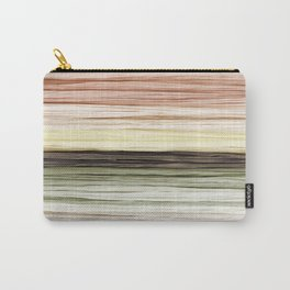 Neutral Ombre Fabric Carry-All Pouch