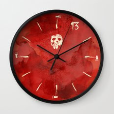 Friday the 13th - Jason is Back, Bitches! Wall Clock
