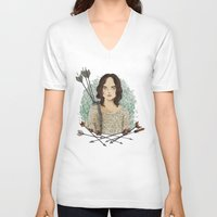 allison argent V-neck T-shirts featuring Allison Argent by strangehats