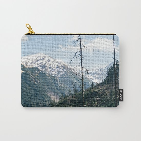 Mountains and Forest Landscape Carry-All Pouch