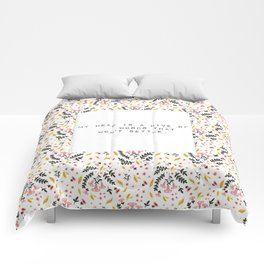 My head is a hive of words - V. Woolf Collection Comforters