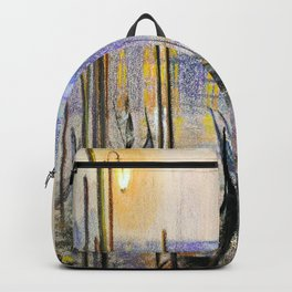 Lilac evening Backpack