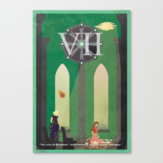 Vintage FF Poster VII Canvas Print