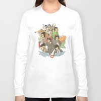 tattoos Long Sleeve T-shirts featuring Zayn and his tattoos by Aki-anyway