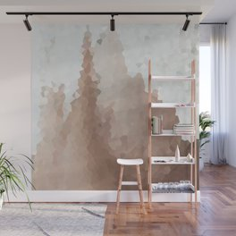 Cacao and Cream Wall Mural