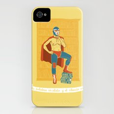 Lucha Library iPhone (4, 4s) Slim Case