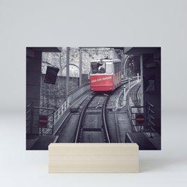 Next Station Is... Mini Art Print