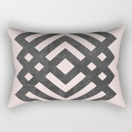 Geometric loop Rectangular Pillow
