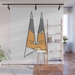 Orange cat Wall Mural