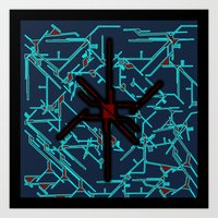 technology Art Prints featuring technology by daniel